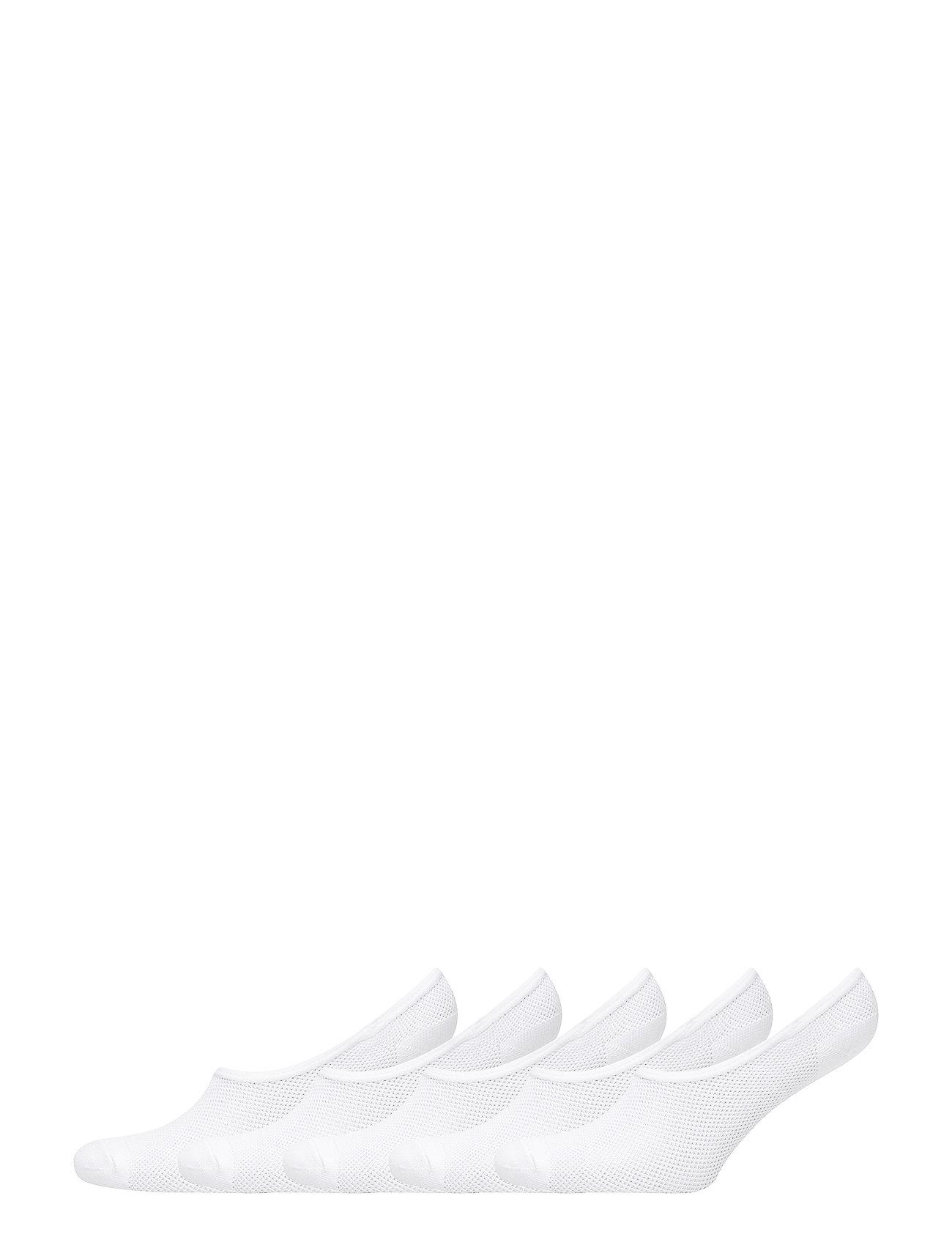 Image of Decoy Footies Quick Dry 5-Pack Lingerie Socks Footies/Ankle Socks Hvid Decoy (3102075349)