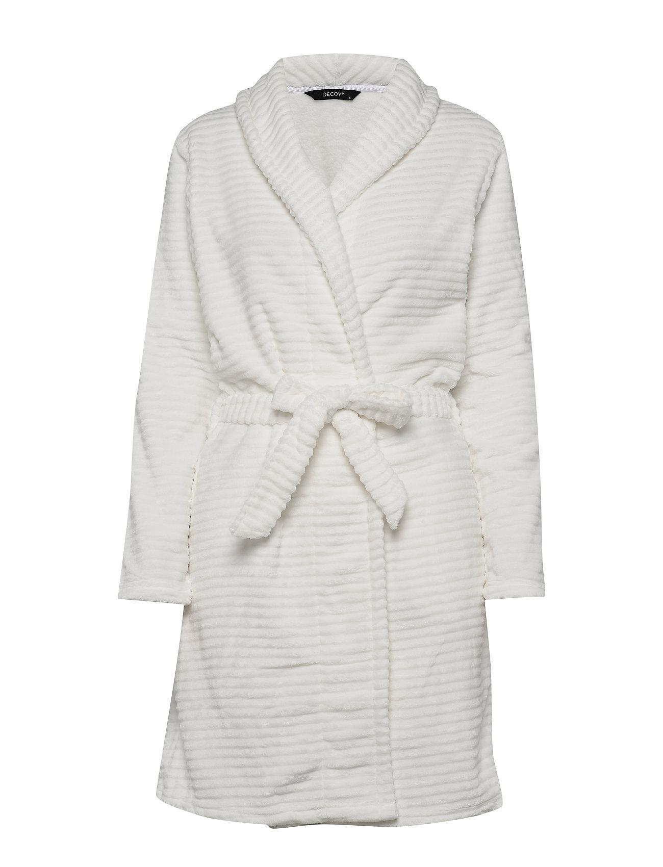 Decoy DECOY short robe w/stripes - CLOUD DANC