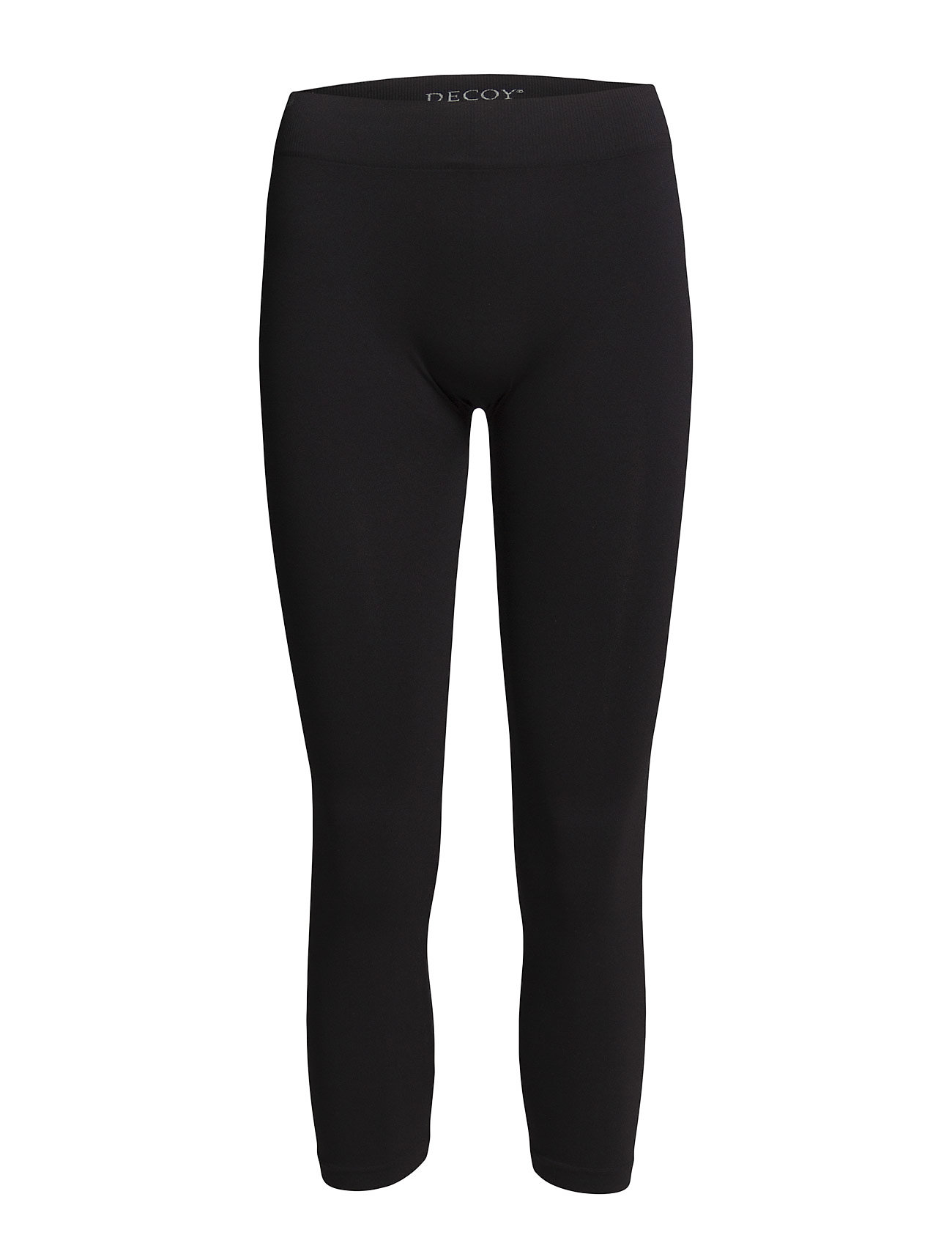 Decoy Seamless capri leggings - BLACK