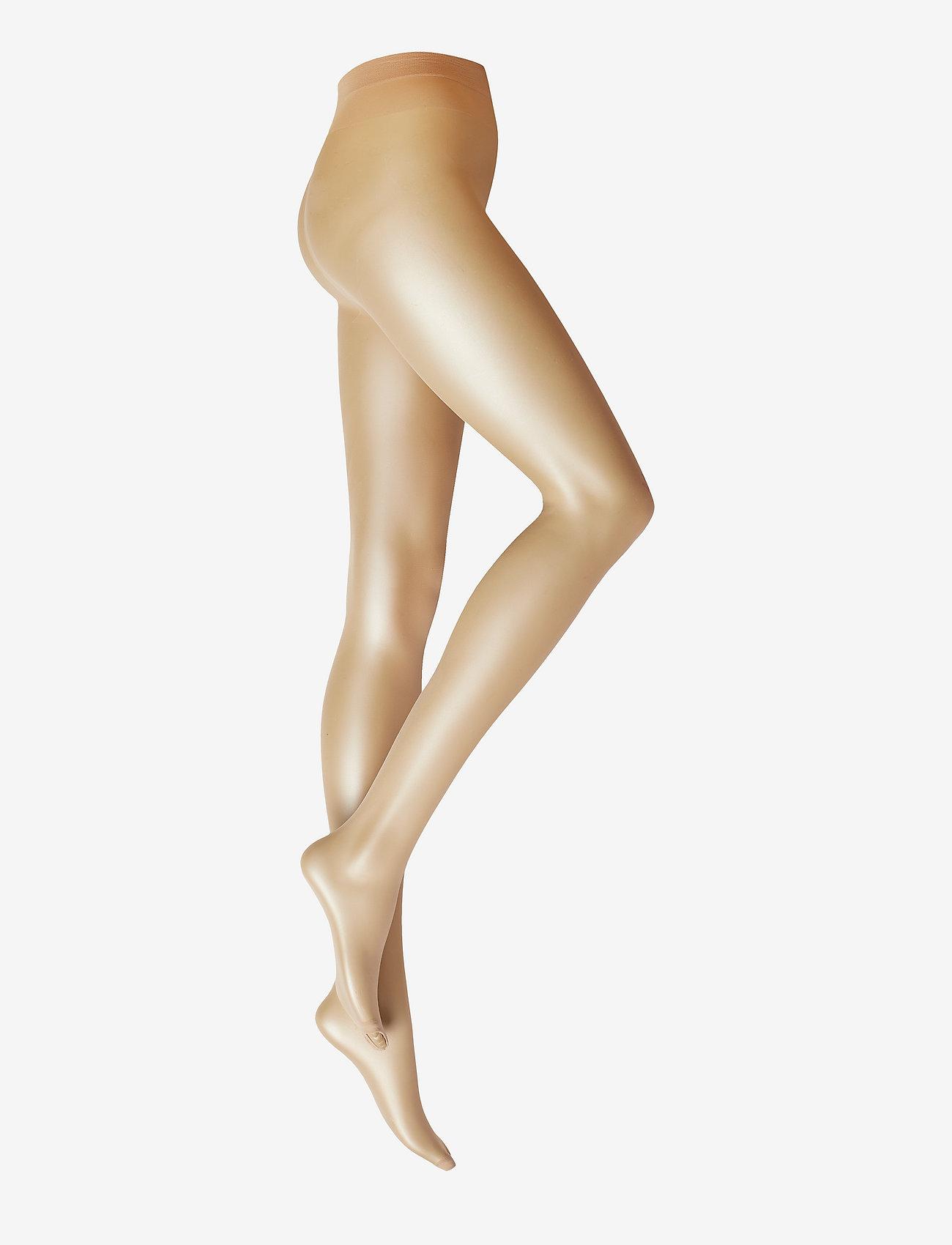 Decoy - DECOY tights toe less 10 den - panty's - light sand - 1