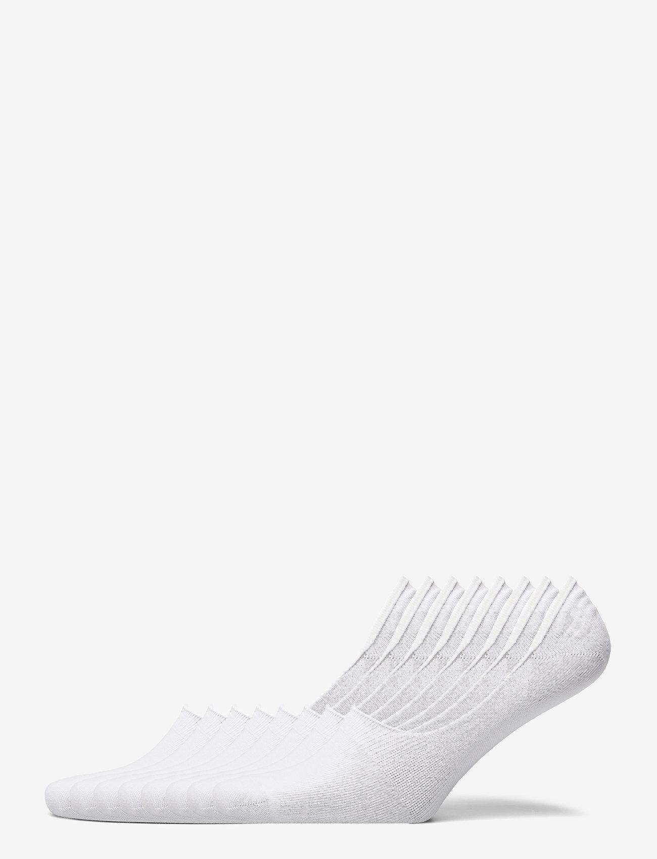 Decoy - DECOY footies org. cotton 7-pk - chaussette de cheville - vit - 0