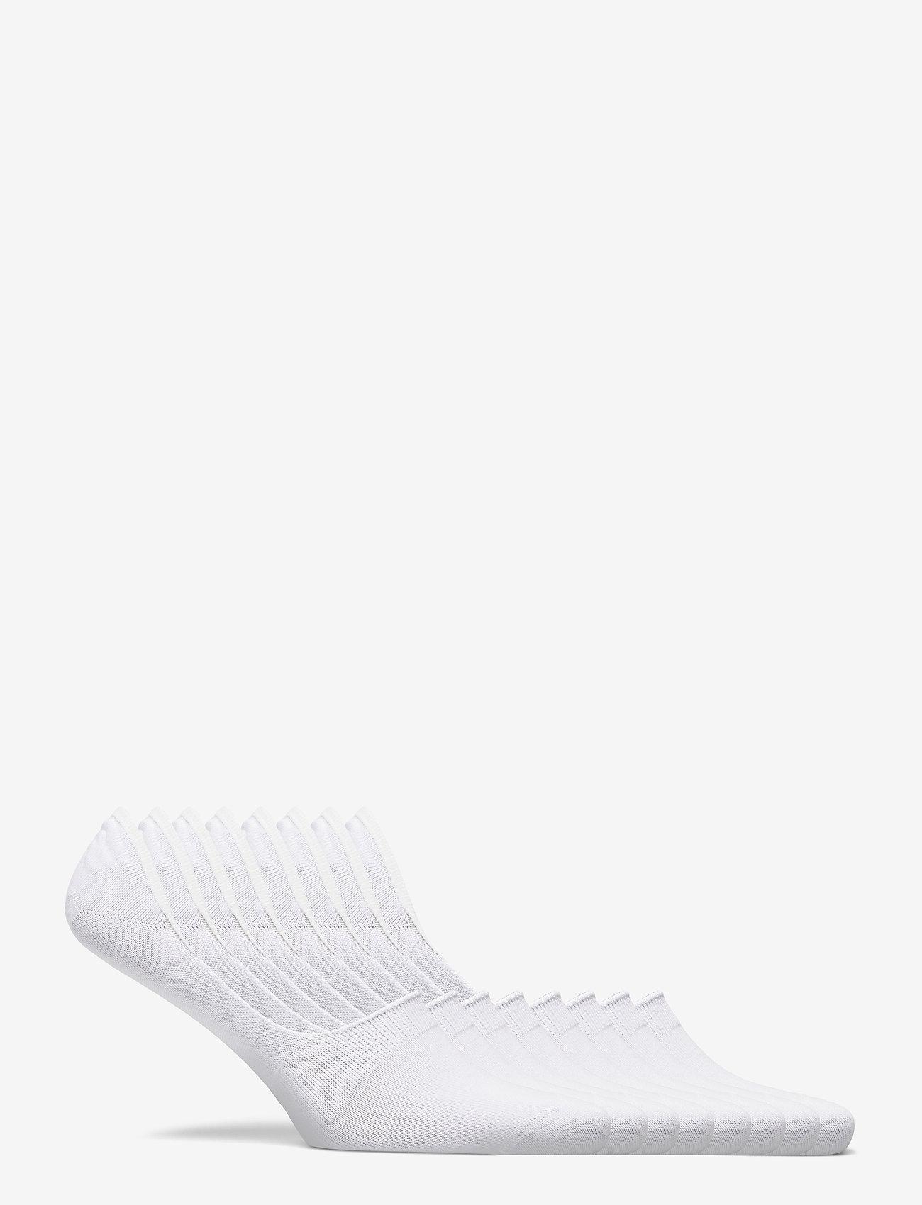 Decoy - DECOY footies org. cotton 7-pk - chaussette de cheville - vit - 4