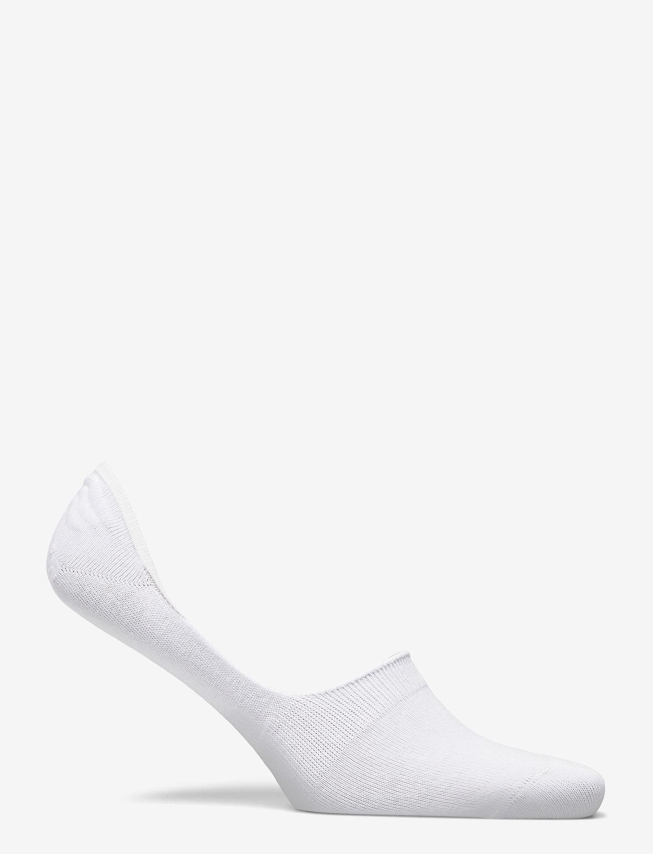 Decoy - DECOY footies org. cotton 7-pk - chaussette de cheville - vit - 2