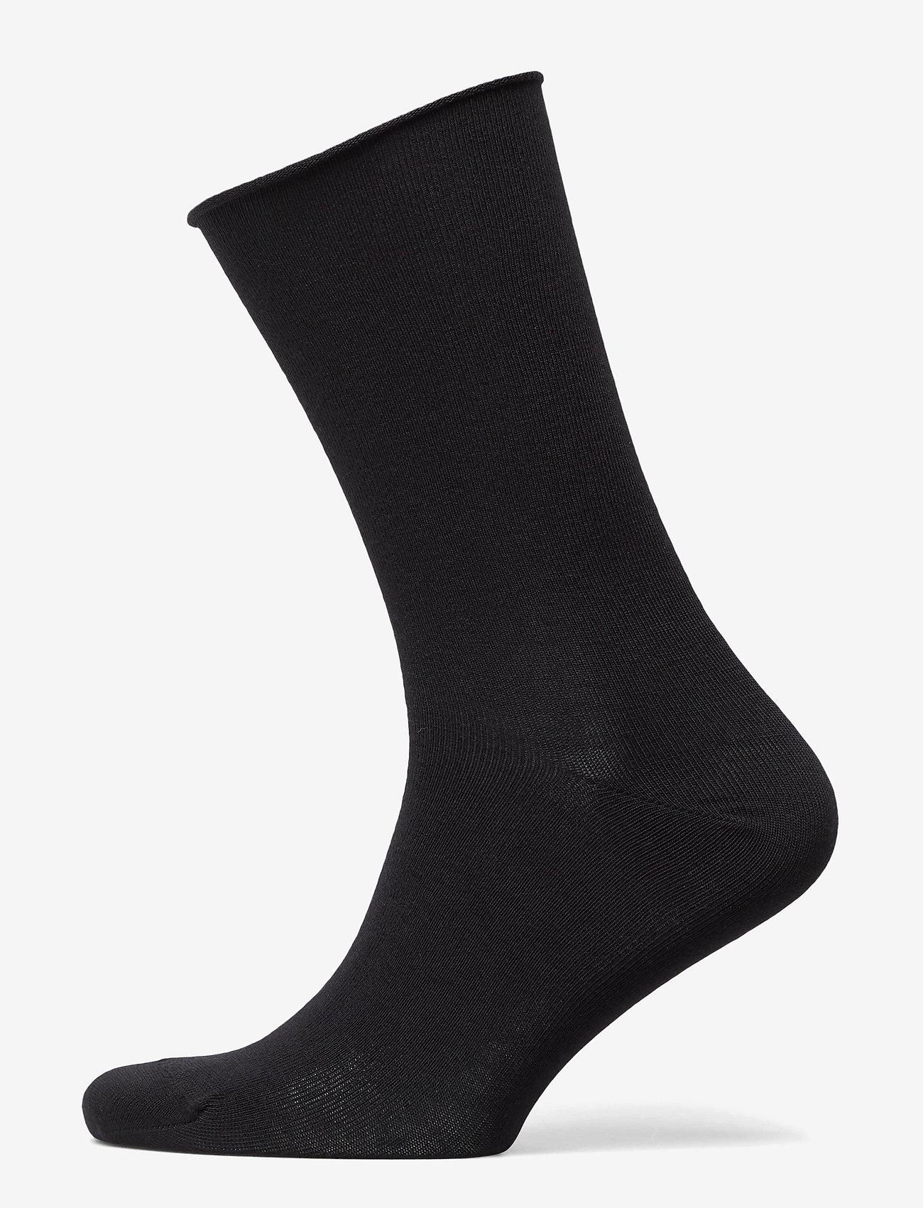 Decoy - DECOY socks org.cotton 7pk - chaussettes régulières - svart - 10