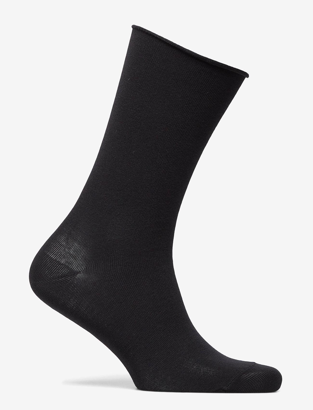 Decoy - DECOY socks org.cotton 7pk - chaussettes régulières - svart - 9