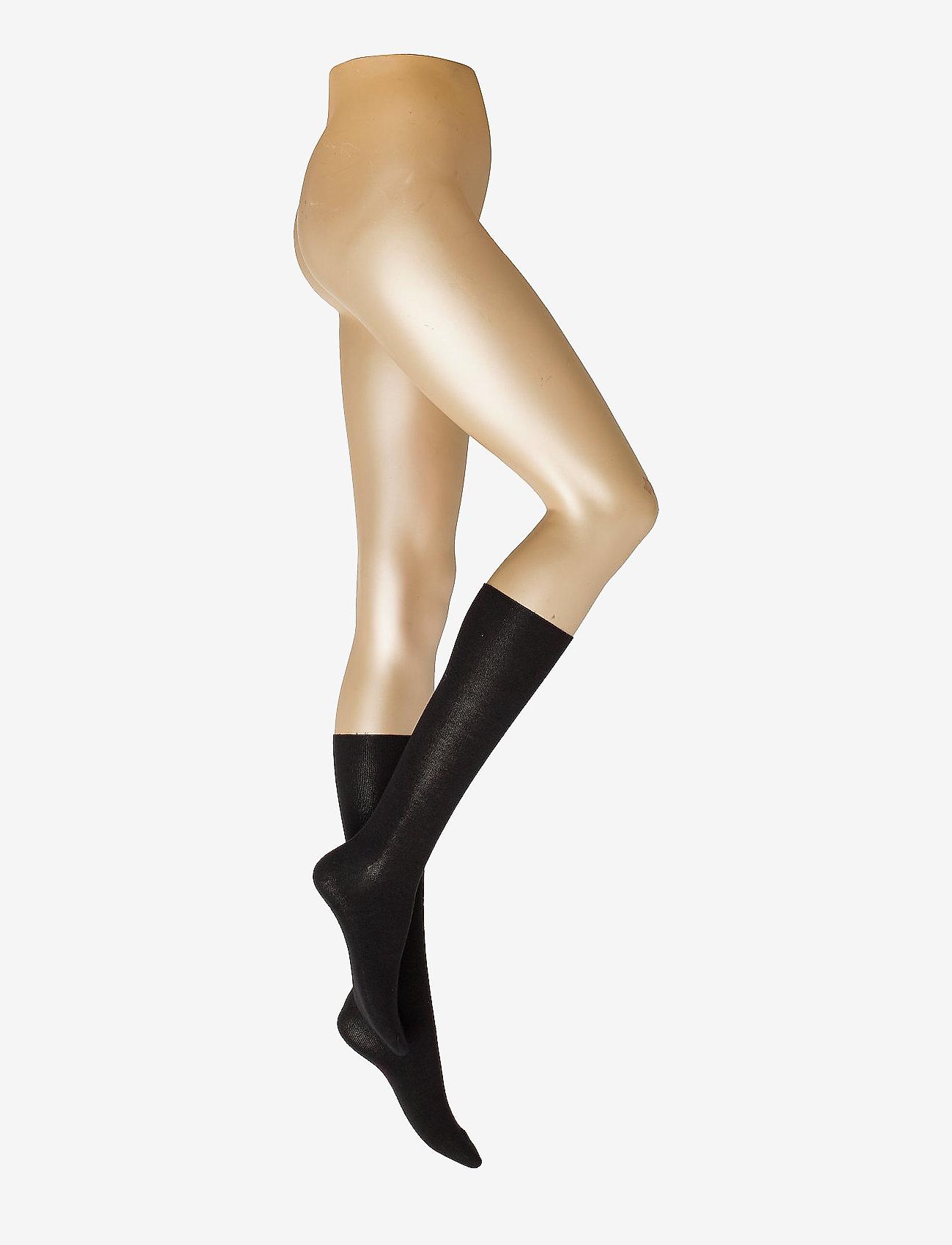 Decoy - DECOY ankle sock bamboo - kolanówki - black - 0