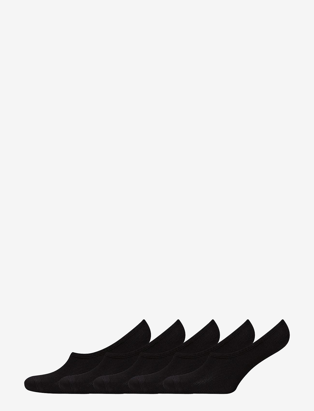 Decoy - DECOY footies quick dry 5-pack - chaussettes sport - black - 0