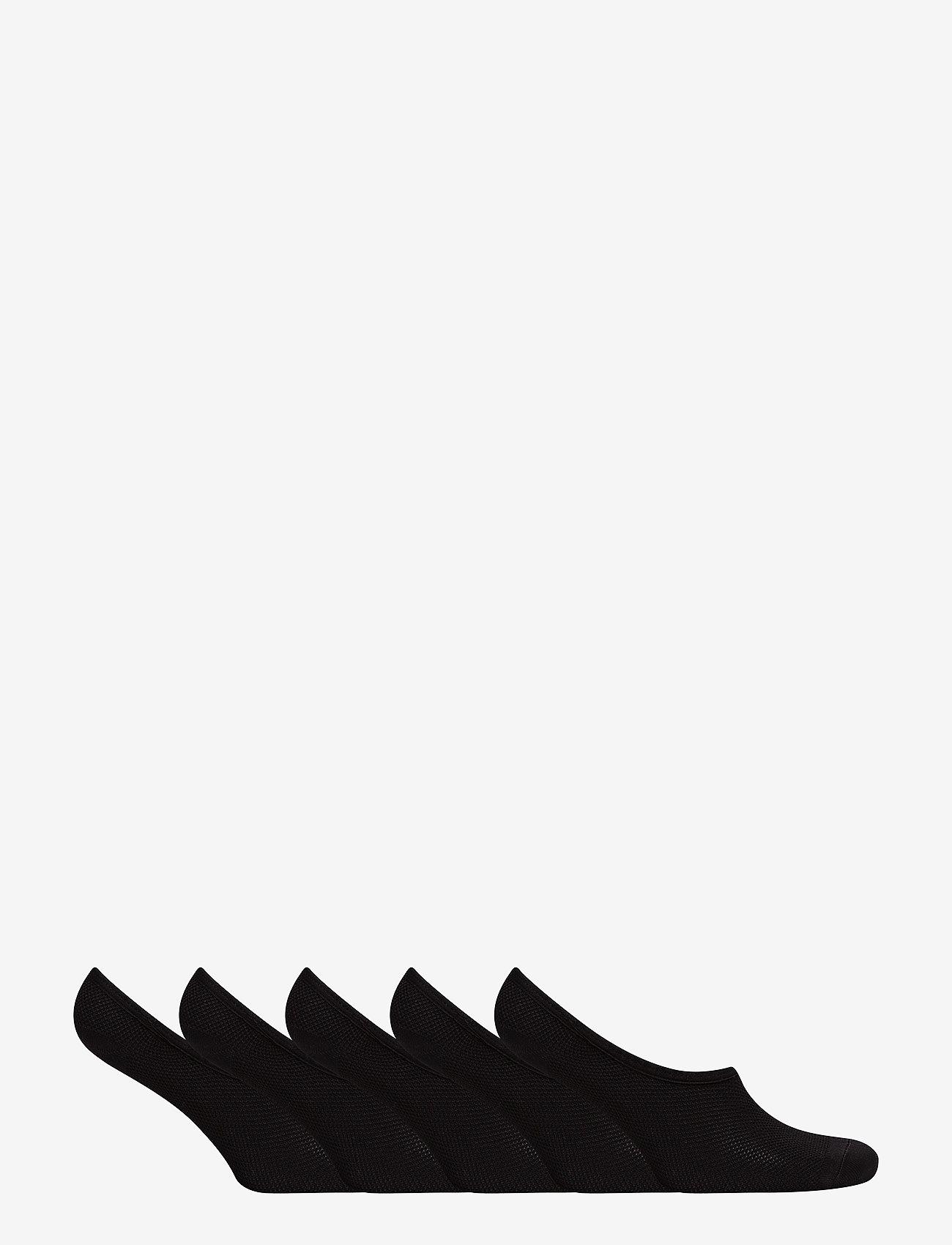Decoy - DECOY footies quick dry 5-pack - chaussettes sport - black - 1