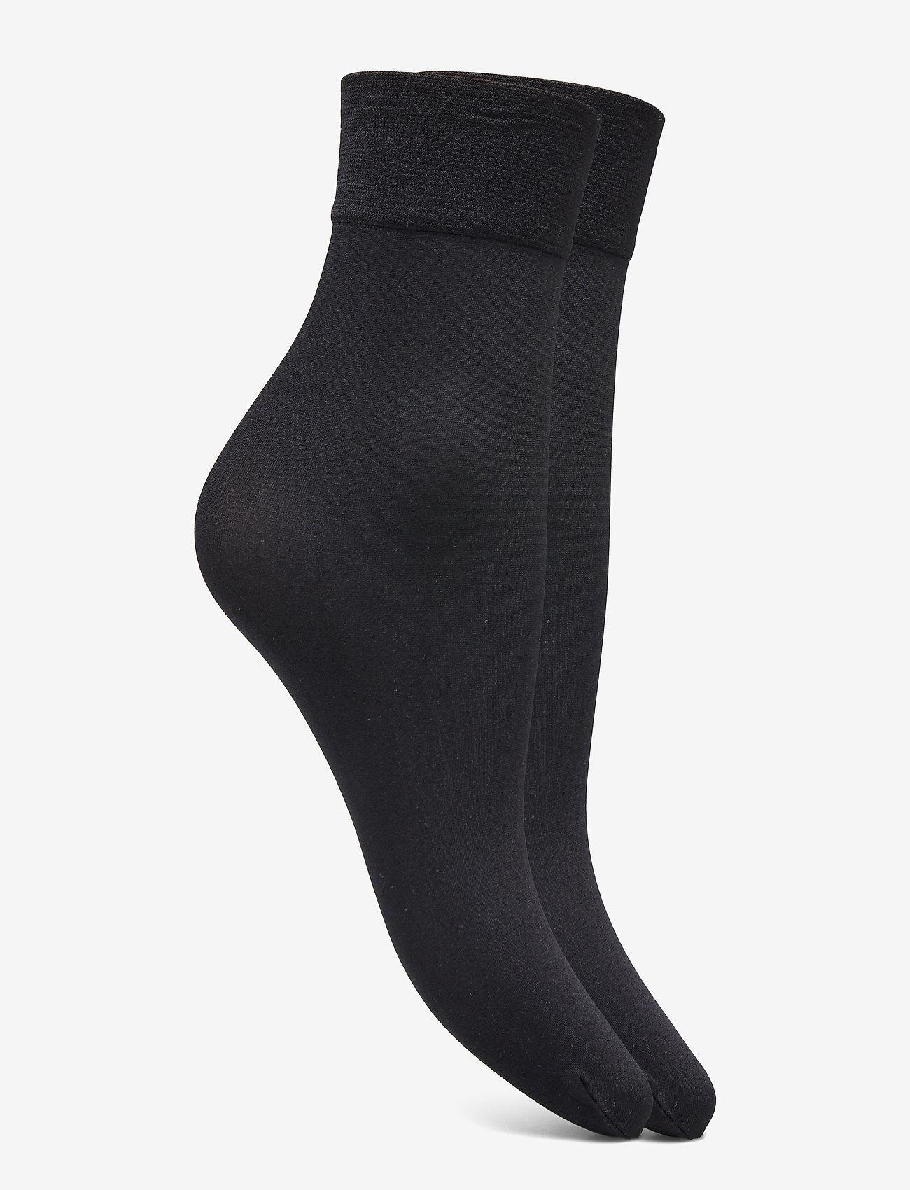 Decoy - DECOY ankle sock micro 2-pk 60 - chaussettes sport - svart - 1