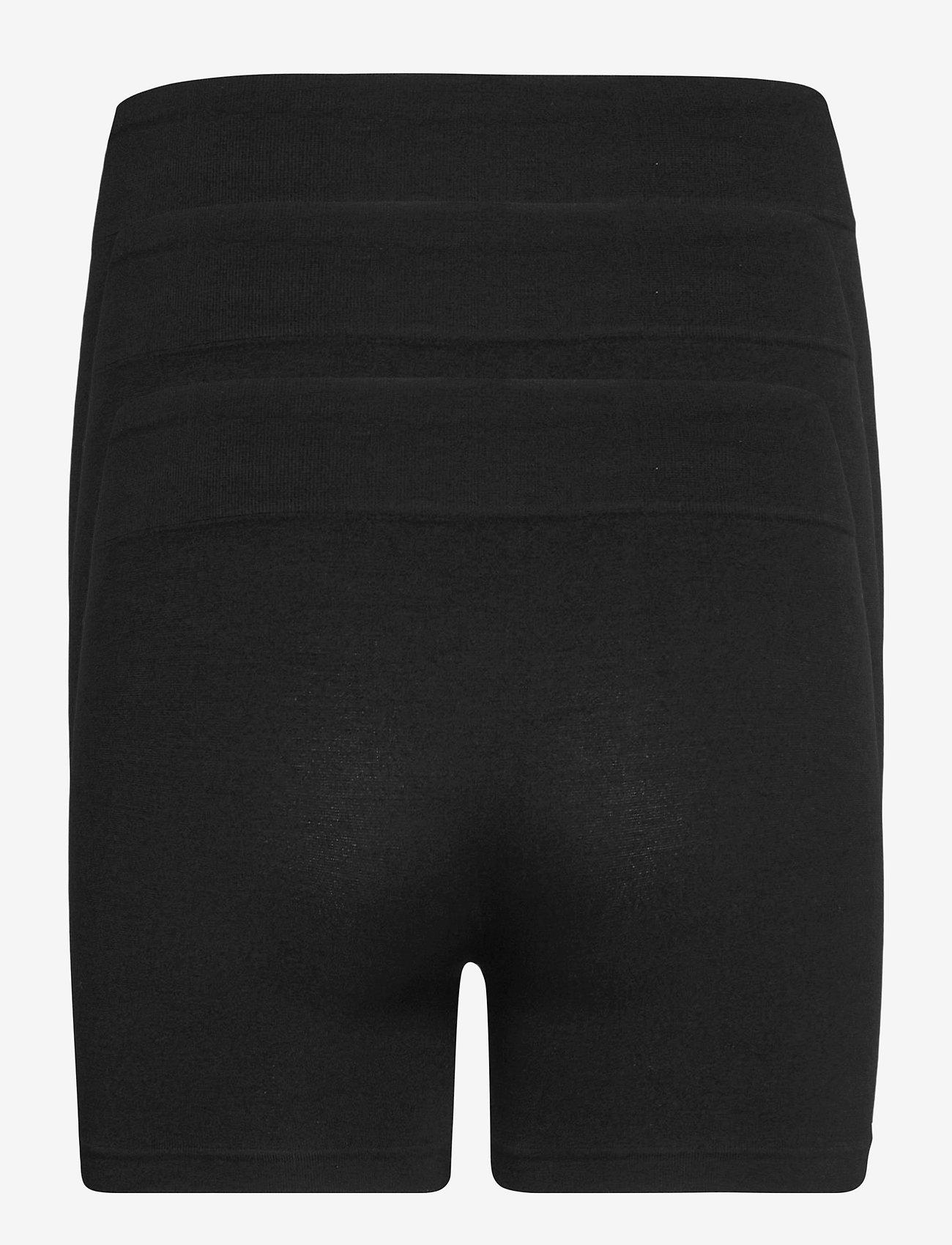 Decoy - DECOY 3-pack hot pants - bottoms - svart - 1