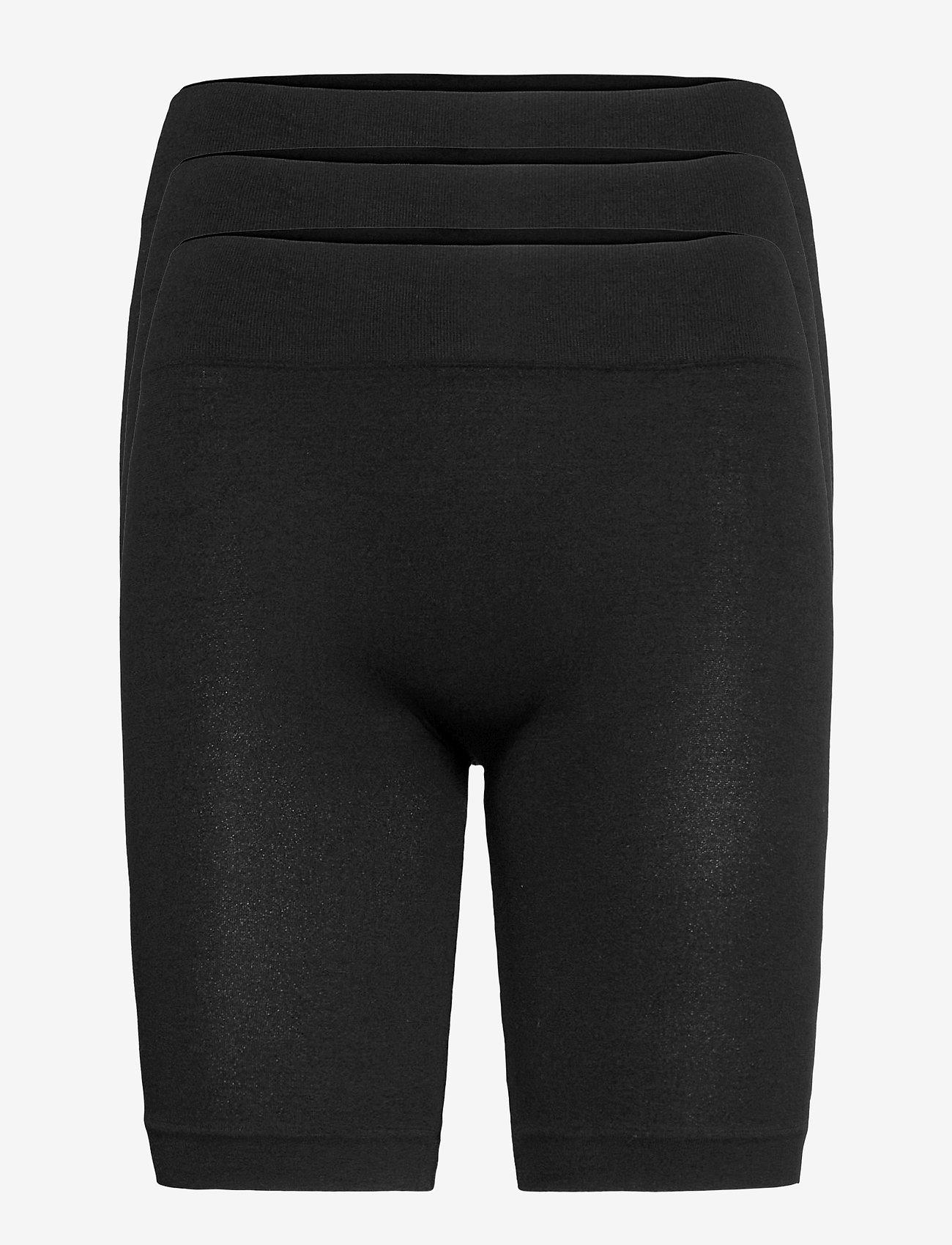 Decoy - DECOY 3-pack seamless shorts - bottoms - svart - 0