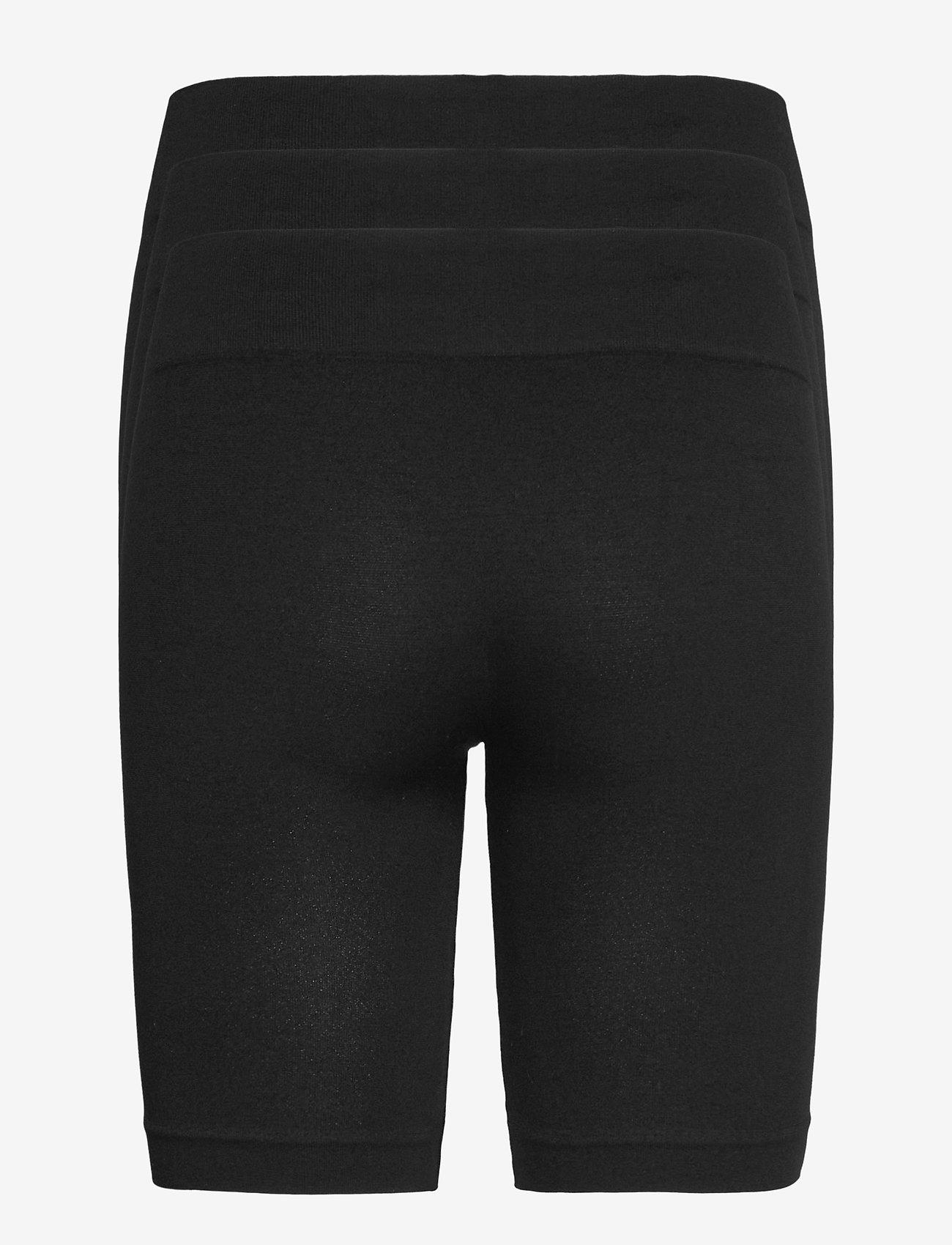 Decoy - DECOY 3-pack seamless shorts - bottoms - svart - 1