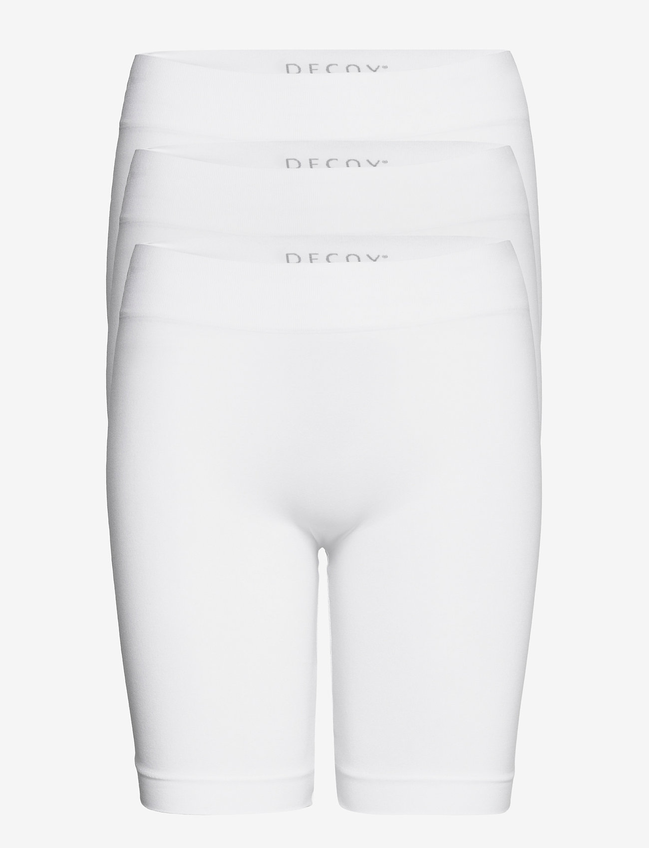 Decoy - DECOY 3-pack seamless shorts - bottoms - vit - 0