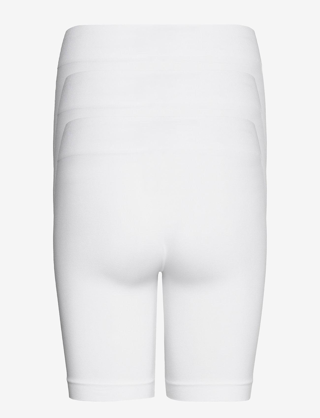 Decoy - DECOY 3-pack seamless shorts - bottoms - vit - 1