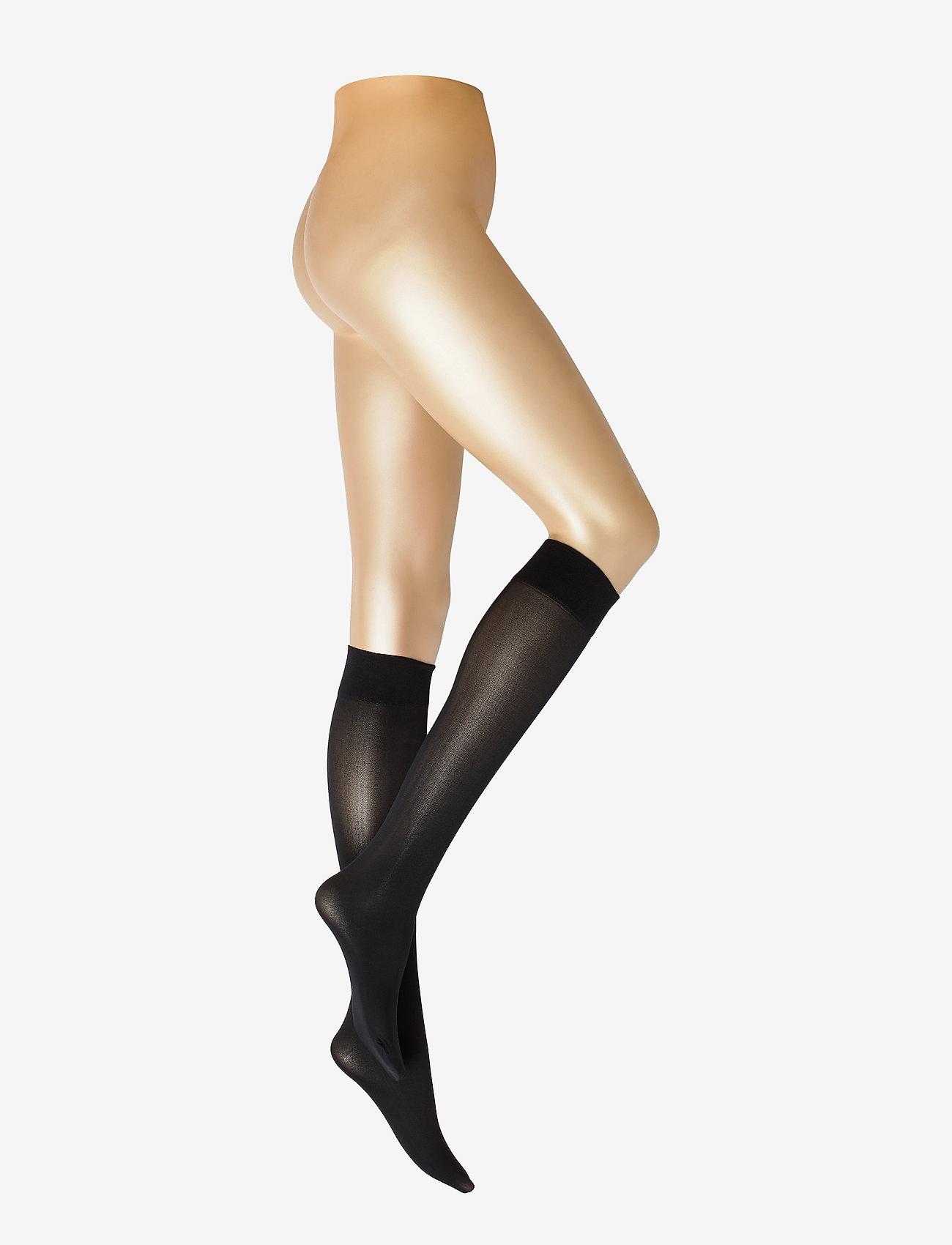 Decoy - DECOY knee high microfiber 60 - chaussettes hautes - svart - 0