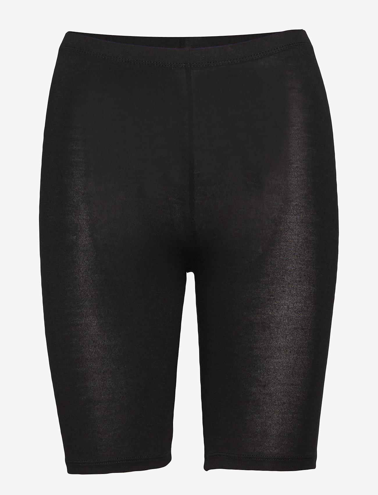Decoy - DECOY shorts viscose stretch - bottoms - black - 0