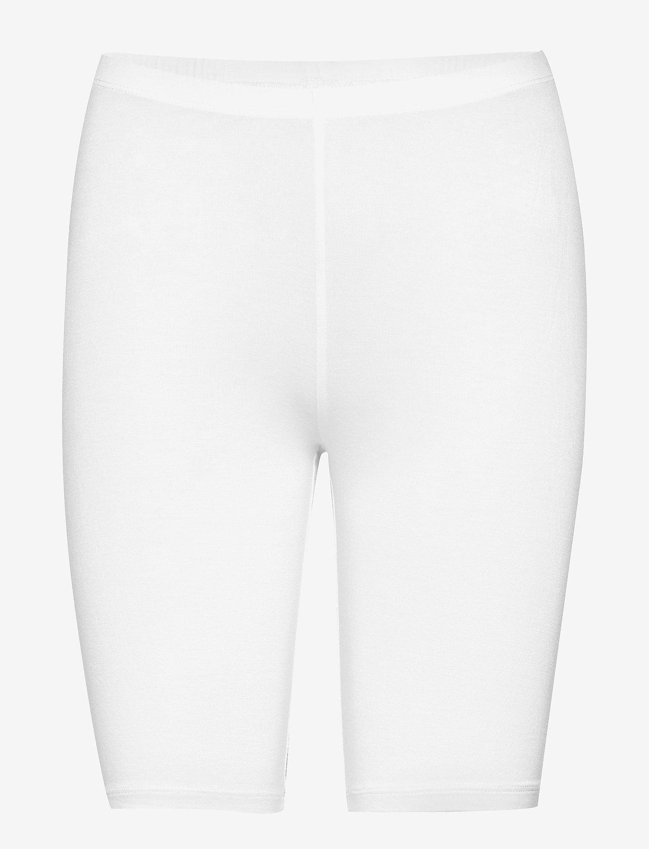Decoy - DECOY shorts viscose stretch - bottoms - white - 0