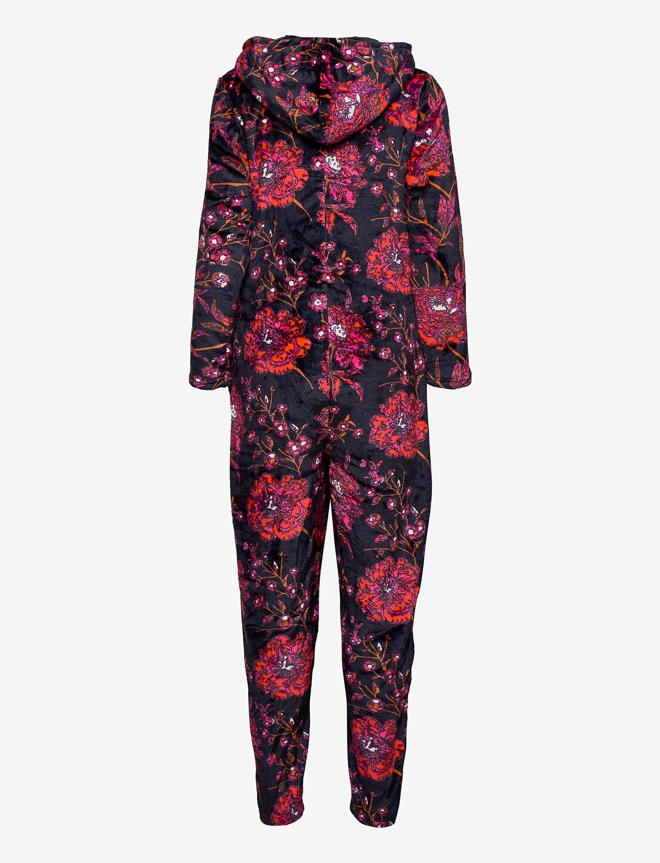 Decoy - DECOY onepiece w/hood, zipper - pyjama''s - flerfärgad - 1