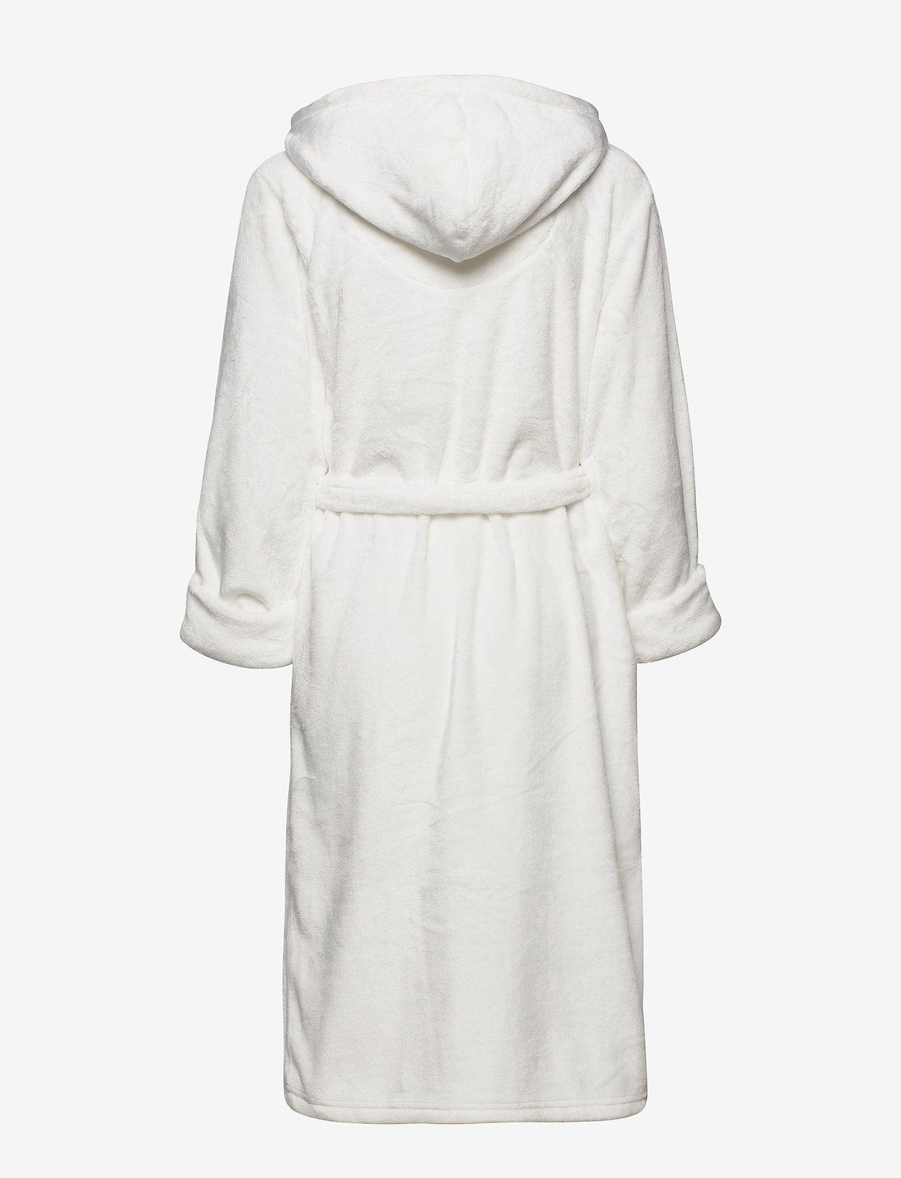 Decoy - DECOY long robe w/hood - bathrobes - creame - 1