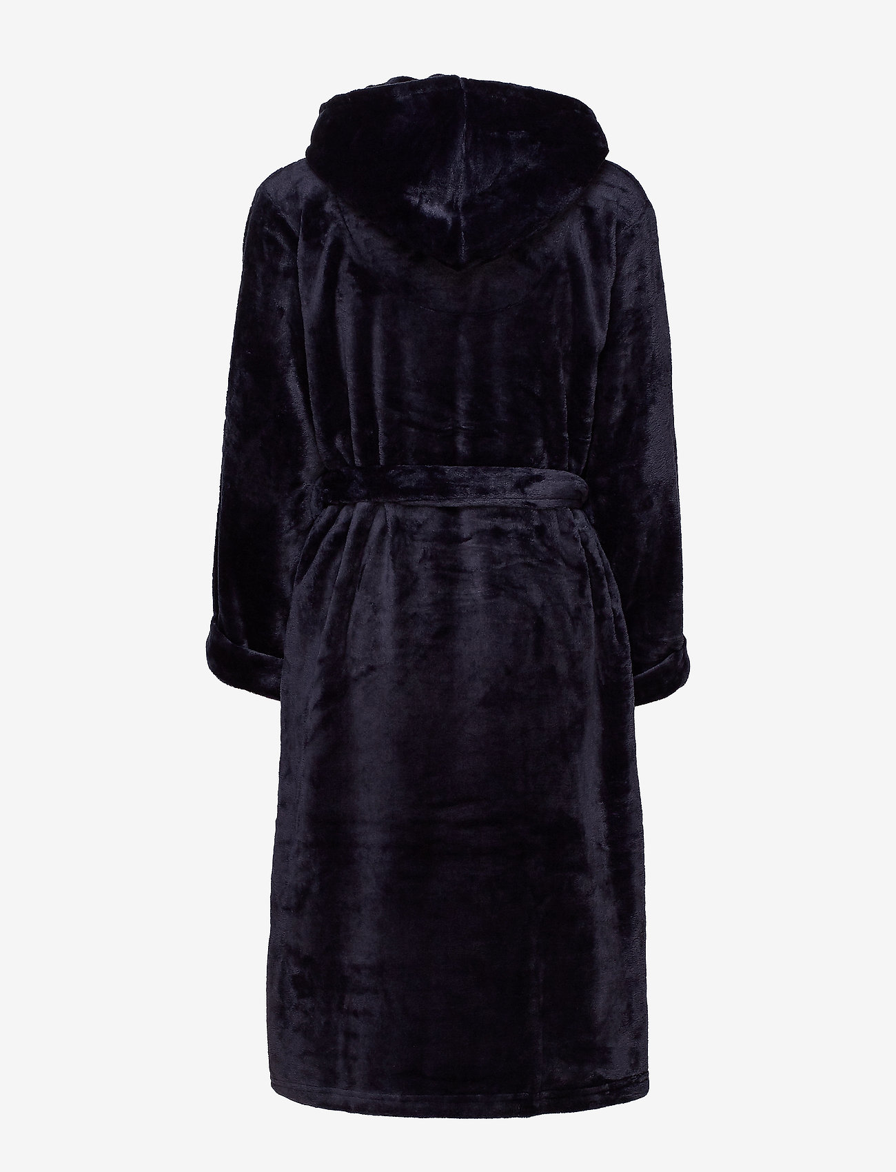 Decoy - DECOY long robe w/hood - bathrobes - navy - 1