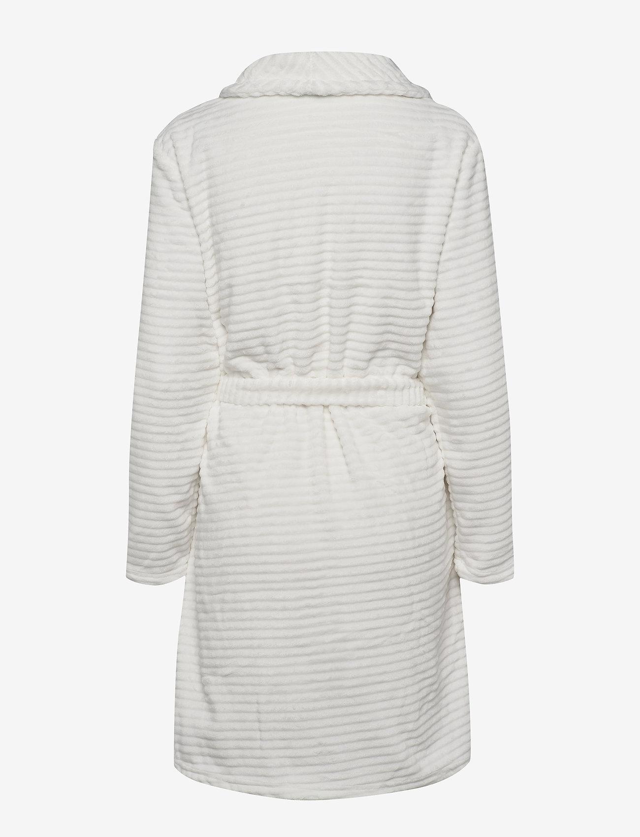 Decoy - DECOY short robe w/stripes - bathrobes - cloud danc - 1