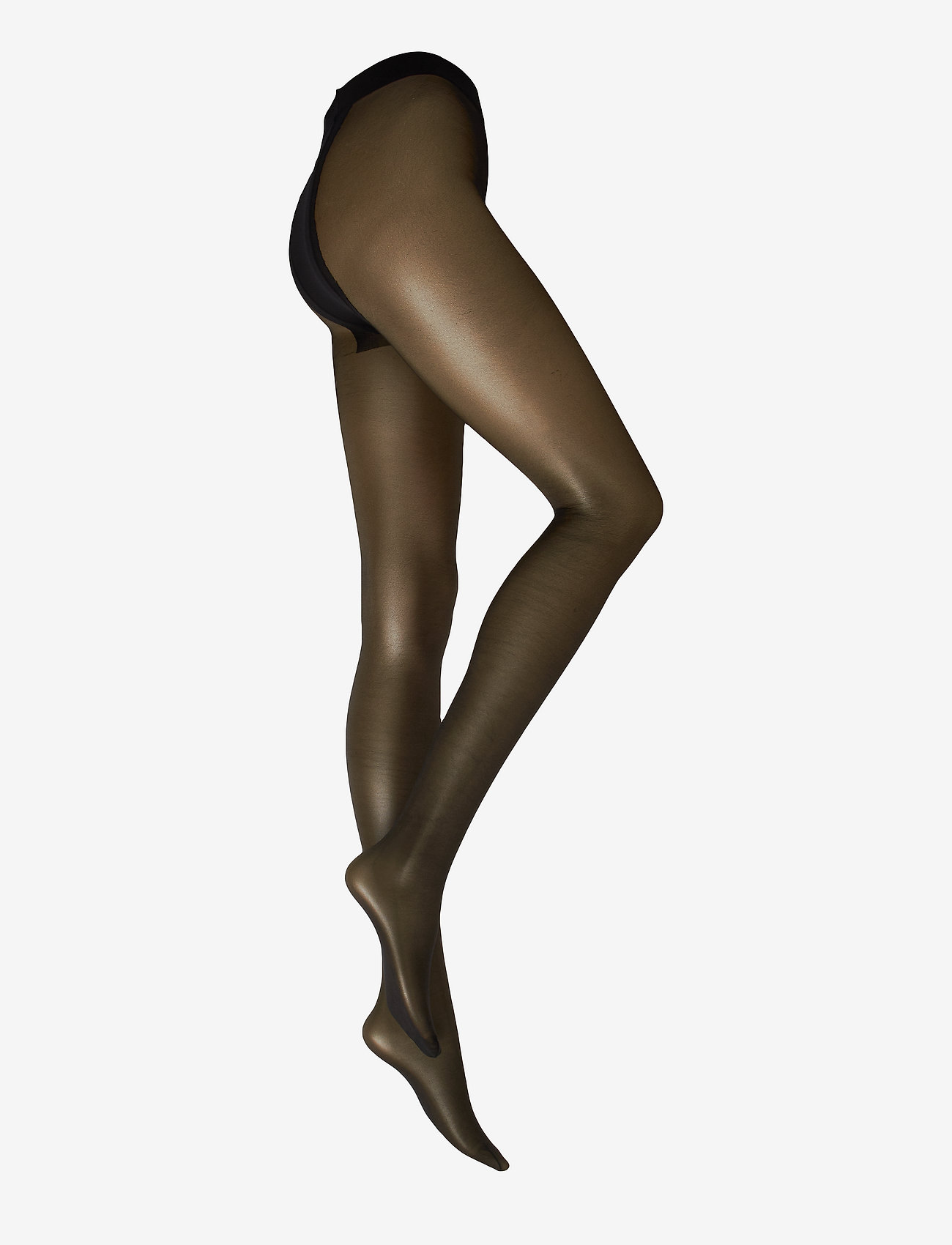 Decoy - Ladies Silk look tights 20den - strømpebukser - black - 1