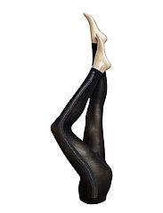 DECOY capri lurex stribe 50 d - BLACK