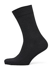 DECOY comfort ankle socks - SVART