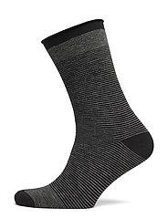 DECOY ankle sock fine knit - STRIPES
