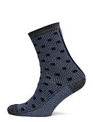 DECOY ankle sock glitter - MULTICOLOU