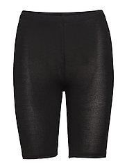 DECOY shorts viscose stretch - BLACK