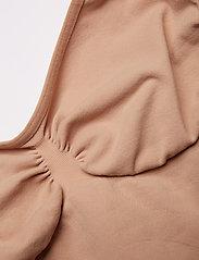 Decoy - DECOY top shapewear w/straps - topper - nude - 2