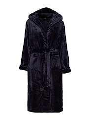 DECOY long robe w/hood - NAVY