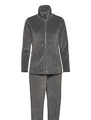 DECOY velour homewear set - GRå