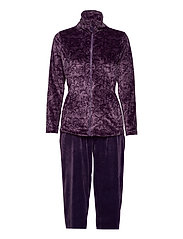 DECOY velour homewear set - MULLED GRA