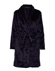 DECOY short robe w/stripes - NIGHT SKY