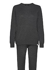 DECOY knit set loungewear - MöRKGRå ME