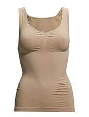 Shape wear top wide straps - NUDE