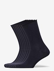 DECOY socks org.cotton 7pk - NAVY