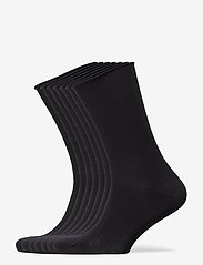 Decoy - DECOY socks org.cotton 7pk - chaussettes régulières - svart - 0