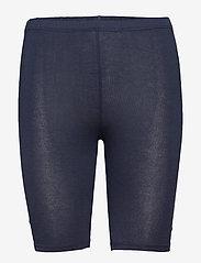 Decoy - DECOY shorts viscose stretch - bottoms - navy - 0