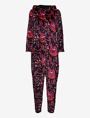 Decoy - DECOY onepiece w/hood, zipper - pyjama''s - flerfärgad - 0