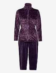 Decoy - DECOY velour homewear set - pyjama''s - mulled gra - 0