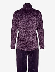 Decoy - DECOY velour homewear set - pyjama''s - mulled gra - 1