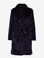 Decoy - DECOY short robe w/stripes - bathrobes - night sky - 0