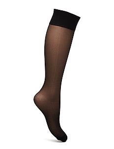 DECOY kneehigh silklook 2pk 20 - kniestrümpfe - black