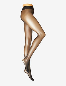 DECOY tights soft luxury 15 de - strømpebukser - black
