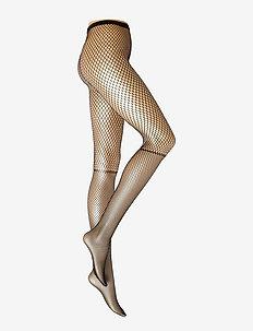 DECOY tights net overknee look - strumpbyxor - svart