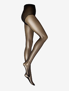 DECOY tights w/backseam 20 den - strumpfhosen - black