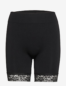 DECOY hotpants w/lace - BLACK